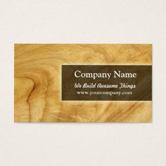 konstruktion/carpentry visitkort