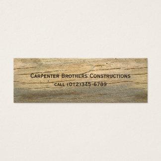 konstruktion litet visitkort