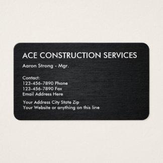 Konstruktion servar Businesscards Visitkort
