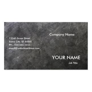 Konstruktionsföretag Set Av Standard Visitkort