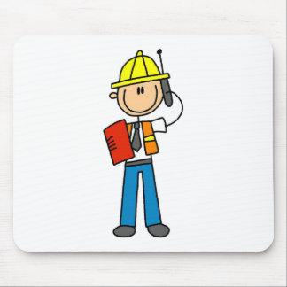 Konstruktionsordförande på mobiltelefonen Mousepad Musmatta