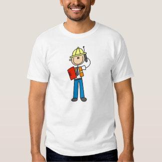 KonstruktionsordförandeT-tröja och gåvor Tee