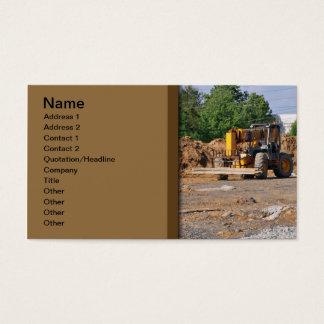 konstruktionsplats visitkort