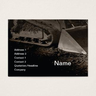 konstruktionsutrustning visitkort