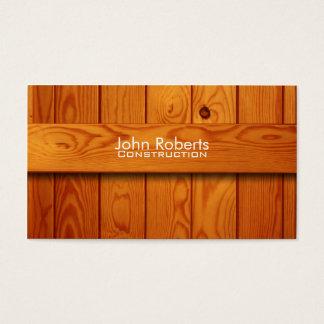 Konstruktionsvisitkort Visitkort