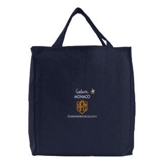Konstshopping bag: Galerie Monaco - KONST Broderad Tygkasse