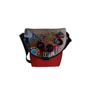 Konststudiomessenger bag kurir väskor