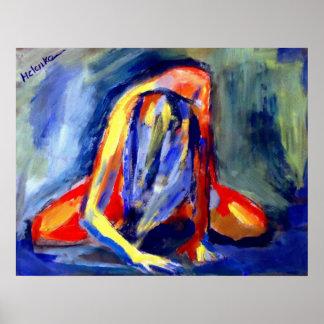 Konsttryck till härliga målningar poster