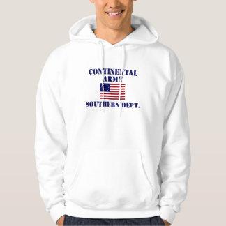 Kontinental armétröja för revolutionärt krig hoodie