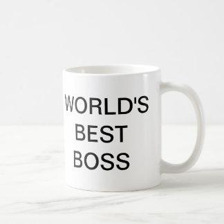 kontoret - världs bäst chefmugg vit mugg