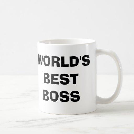 Kontoret, världs bäst mugg för chefkaffe