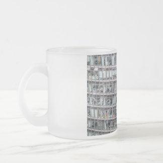 Kontorstorn i Berlin Frostad Glas Mugg
