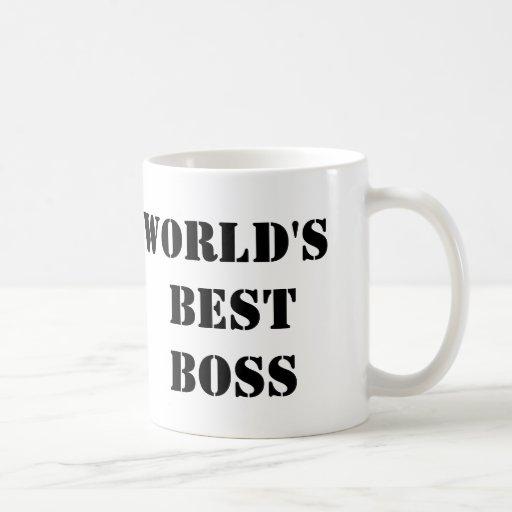 Kontorsvärldens bäst chef muggar