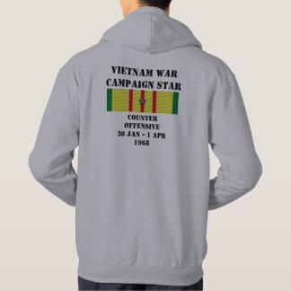 Kontra - den offensiva kampanjen tröja med luva