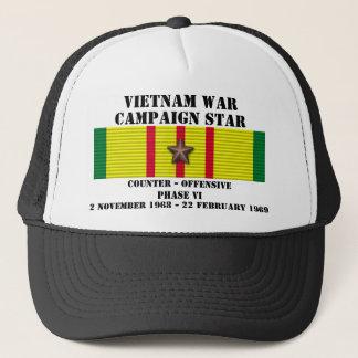 Kontra - offensiven arrangerar gradvis kampanj VI Truckerkeps