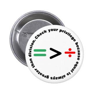 Kontrollera ditt privilegierar standard knapp rund 5.7 cm
