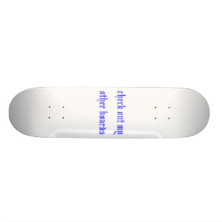 kontrollera min annat stiger ombord ut skateboard decks