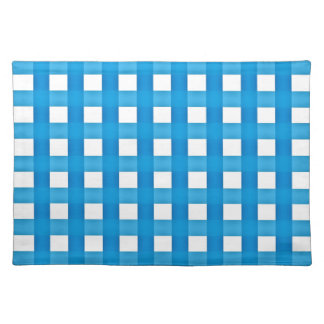 Kontrollerad bordstablett i Aquablått och vit