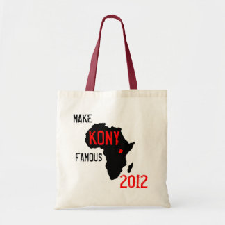 Kony 2012 hänger lös tygkasse