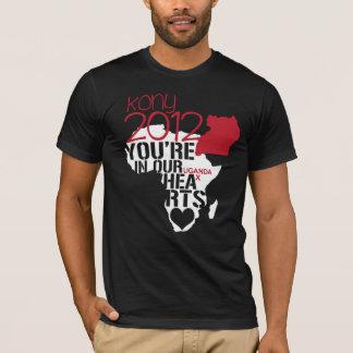 Kony 2012 hjärtor tee shirts