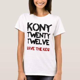 """Kony 2012 - skjortan """"spara för ungarna   """" t shirts"""