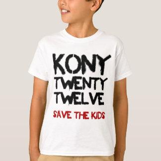 """Kony 2012 - skjortan """"spara för ungarna   """" tee"""