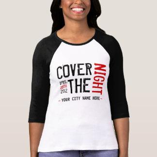 Kony 2012 - Skräddarsy - täcka natten T-shirts