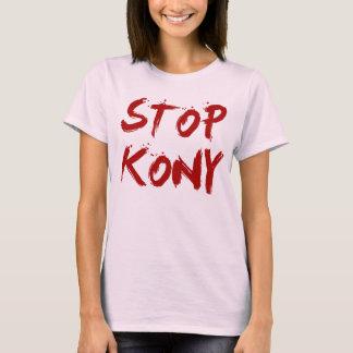 Kony 2012 stopp röda blodiga Joseph Kony T-shirts