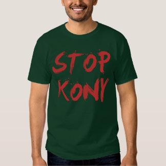 Kony 2012 stopp röda blodiga Joseph Kony Tröjor