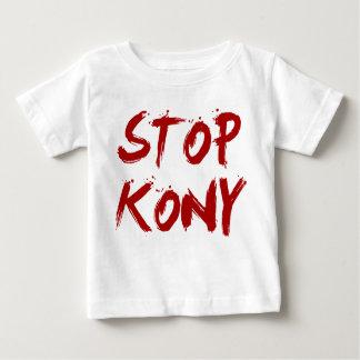 Kony 2012 stopp röda blodiga Joseph Kony Tee