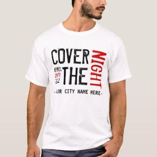 Kony 2012 - Täcka natten - ANPASSADE T-shirt