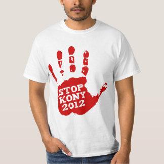Kony Handprint stopp 2012 Joseph Kony Tee Shirts