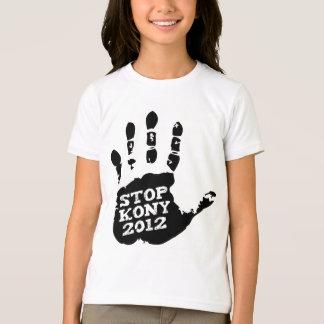 Kony Handprint stopp 2012 Joseph Kony Tshirts
