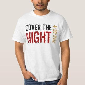 Kony täcker natten t-shirt