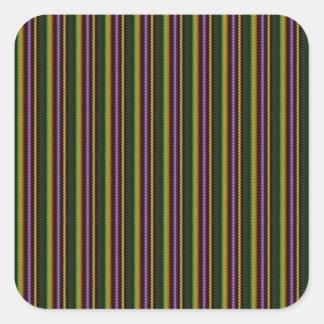 KOOL-mörk skuggar mönster vid NavinJOSHI NVN45 Fyrkantigt Klistermärke