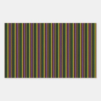 KOOL-mörk skuggar mönster vid NavinJOSHI NVN45 Rektangulärt Klistermärke