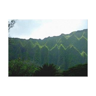 Koolau berg canvastryck