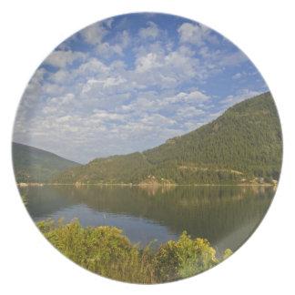 Kootenay sjö i Nelson British Columbia Tallrik