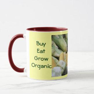 Köp äter växer den organiska muggen mugg