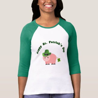 Köp en piggy gullig skjorta för st patricks day T Tee Shirts