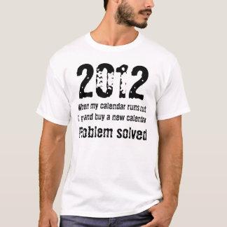 Köp för 2012 Time en ny kalender Tee