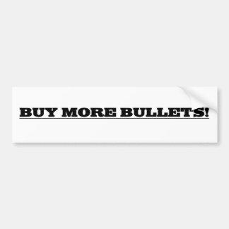 Köp mer kulor bildekal