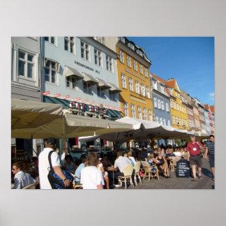 Köpenhamn Danmark Affisch