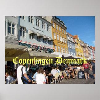 Köpenhamn Danmark Poster