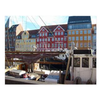 Köpenhamn Danmark Vykort
