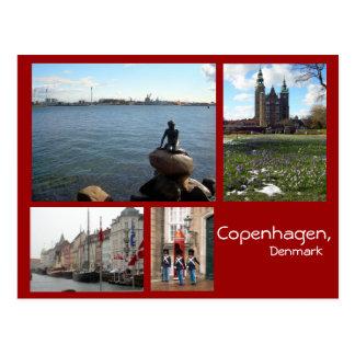 KöpenhamnCollage Vykort