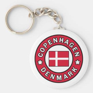 KöpenhamnDanmark keychain Rund Nyckelring