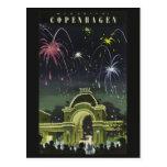 Köpenhamnvintage resorvykort vykort
