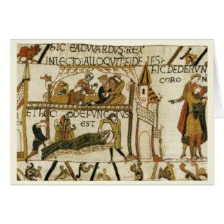 Kopiavintage bild, Bayeaux Tapestry OBS Kort