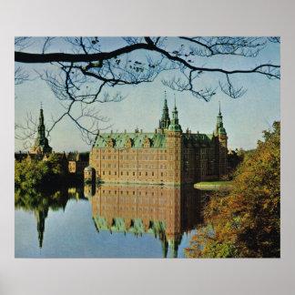 Kopiavintage Danmark, Hillerod slott Affisch